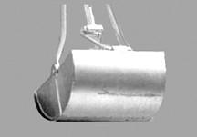 Sielbagger Rechteckform 200x200 mm 1,5-2,5 Meter