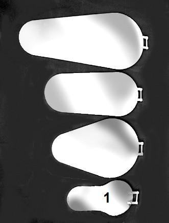Kanalspiegel Typ 1