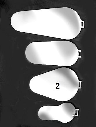 Kanalspiegel Typ 2