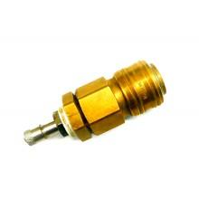 Adapter Luftkupplungsmuffe / Luftpumpenventil